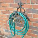 Cast Iron Hose Tidy with Tap