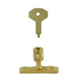 Kirkpatrick 116 Brass Plated Locking Pivot For Casement Stay