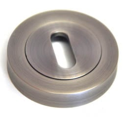 Round Escutcheon - Matt Gun Metal Finish