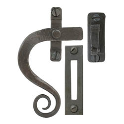 Blacksmith Beeswax Curved Monkeytail Casement Fastener