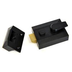 Kirkpatrick 5144 Standard Night Latch - Black