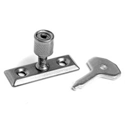 Kirkpatrick P116 Locking Pivot For Casement Stay -  Pewter