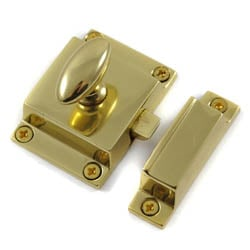Polished Brass Cabinet Latch