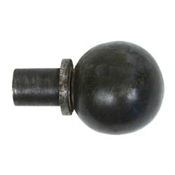 Blacksmith Beeswax Ball Curtain Finial