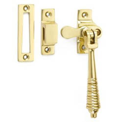 Croft 6436L Reeded Lockable Casement Fastener