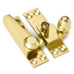 Croft 1036L Acorn Knob Sash Fastener - Lockable