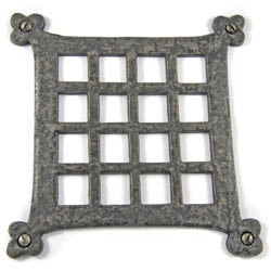 Louis Fraser 234 Flat Grille - Pewter Finish