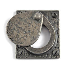 Louis Fraser 238 Cylinder Latch Cover - Pewter Finish