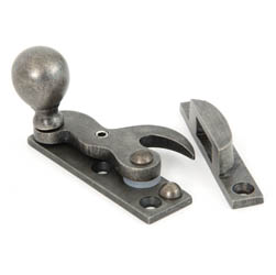 Antique Pewter Sash Fastener