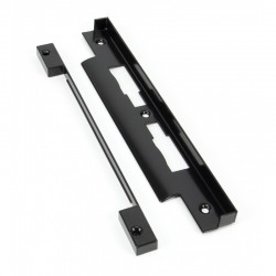 Rebate Kit for Euro DIN Sash Case - Black Finish