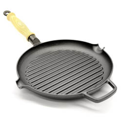 Gense Cast Iron Grill Pan