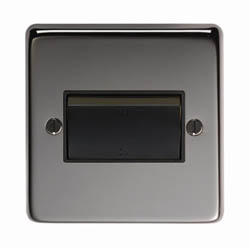 Black Nickel Fan Isolator Switch