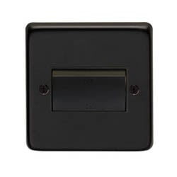 Matt Black Fan Isolator Switch