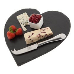 Just Slate Cheese Board - Heart