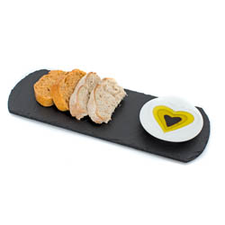 Just Slate Oil and Vinegar Dipping Set