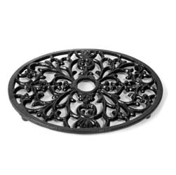 Small Oval Trivet - Heat Resistant For Wood Burning Stoves