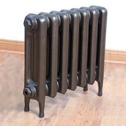 SMALL Edwardian Cast Iron Radiator