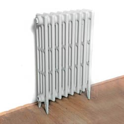 TALL Victorian 4 Column - Cast Iron Radiator