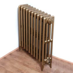 MEDIUM Victorian 4 Column - Cast Iron Radiator