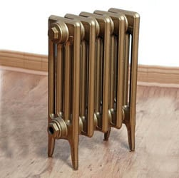 SMALL Victorian 4 Column - Cast Iron Radiator