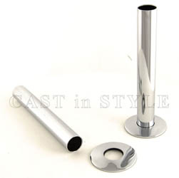 Radiator Pipe Sleeve Cover - Chrome